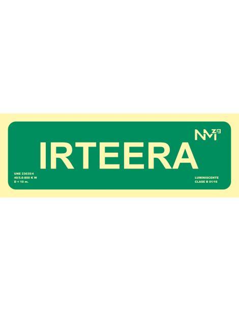SEÑAL IRTEERA