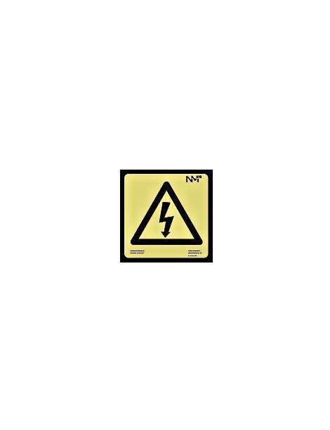 Señal riesgo electrico