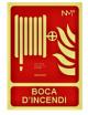 SEÑAL BOCA D'INCENDI