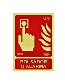 SEÑAL POLSADOR D'ALARMA
