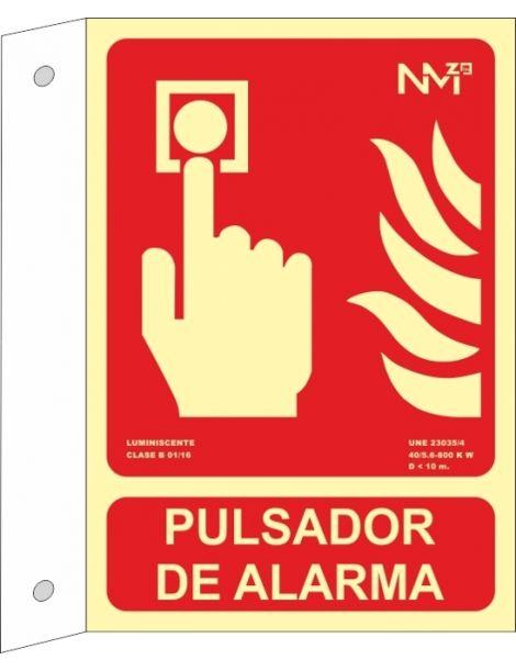 BANDEROLA PULSADOR DE ALARMA