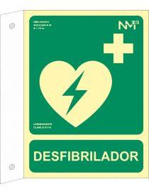 BANDEROLA DESFIBRILADOR