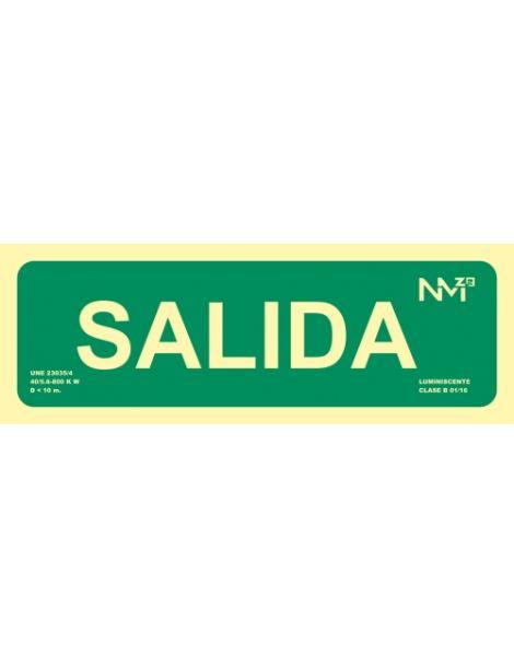 SEÑAL SALIDA