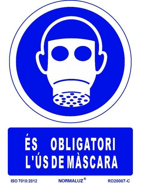 SEÑAL OBLIGATORI US DE MASCARA