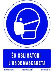 SEÑAL OBLIGATORI US DE MASCARETA