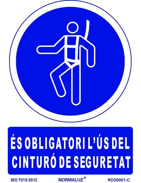 SEÑAL OBLIGATORI US DEL CINTURÓ DE SEGURETAT