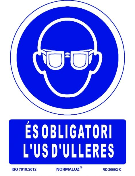 SEÑAL OBLIGATORI US D'ULLERES