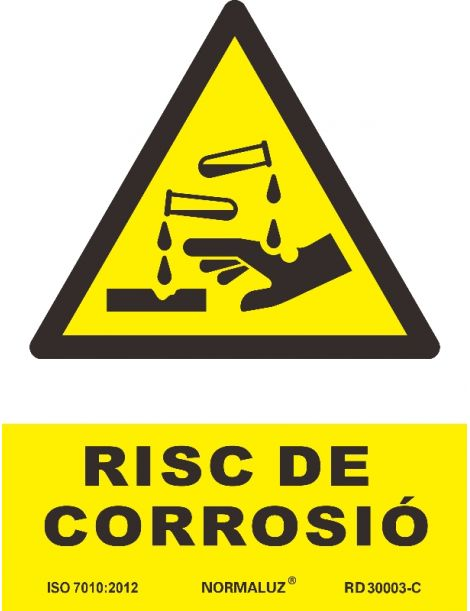 SEÑAL PERILL DE CORROSIO