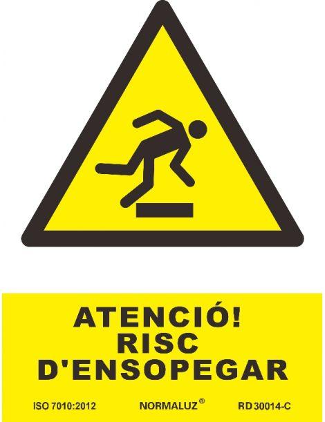 SEÑAL PERILL D'ENSOPEGAR
