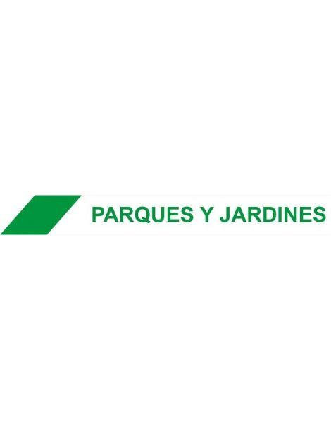 CINTA BALIZAMIENTO PARQUES Y JARDINES