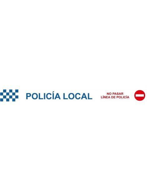 CINTA BALIZAMIENTO POLICÍA LOCAL