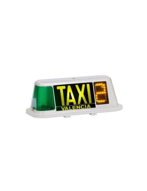 Indicador tarifario taxi modelo MINILED