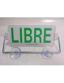 Letrero Taxi LIBRE-OCUPADO