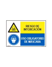 RIESGO DE INTOXICACIÓN/OBLIGATORIO MÁSCARA