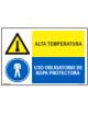ALTA TEMPERATURA/OBLIGAT. ROPA PROTECTORA
