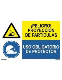 PROYECCIÓN DE PARTÍCULAS/OBLIGAT. PROTECTOR