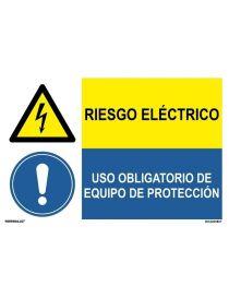 RIESGO ELECTRICO/OBLIGAT. EQUIPO PROTECCIÓN