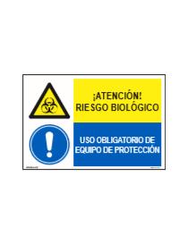 RIESGO BIOLÓGICO/OBLIGAT. EQUIPO DE PROTECCIÓN