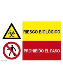 RIESGO BIOLÓGICO/PROH. EL PASO