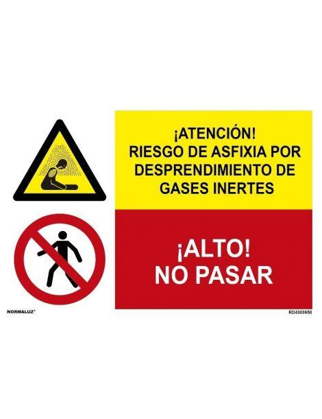 RIESGO DE ASFIXIA POR DESPRENDIMIENTO DE GASES INERTES