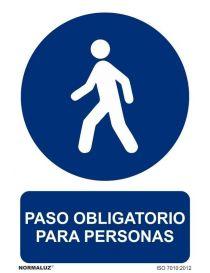 Señal Paso obligatorio para personas