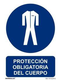 Señal protección obligatoria del cuerpo