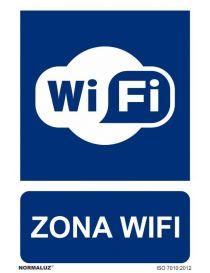 Señal zona wifi