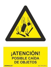 Señal Atención Posible Caida de Objetos