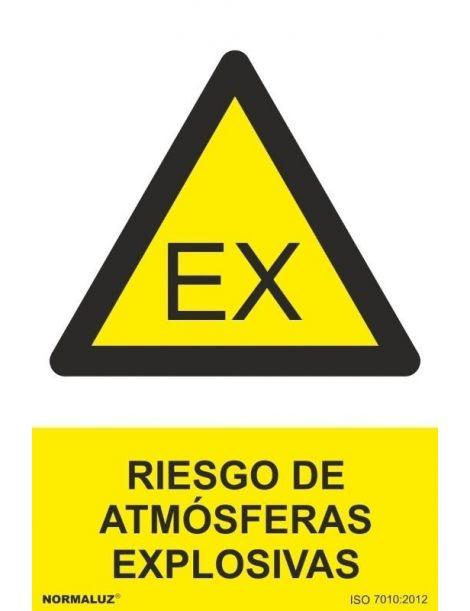 Señal Riesgo de Atmósferas Explosivas