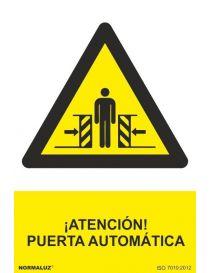 Señal Atención Puerta Automática