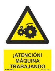 Señal Máquina Trabajando