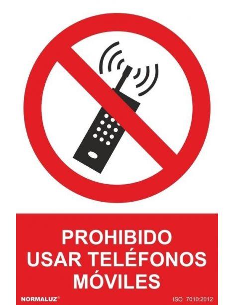 Señal Prohibido Usar Teléfonos Móviles