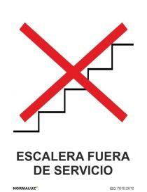 Señal Escalera Fuera de Servicio