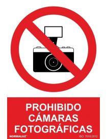 Señal Prohibido Cámaras Fotográficas