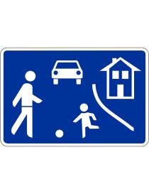 Señal Calle Residencial