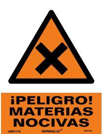 Señal Peligro Materias Nocivas