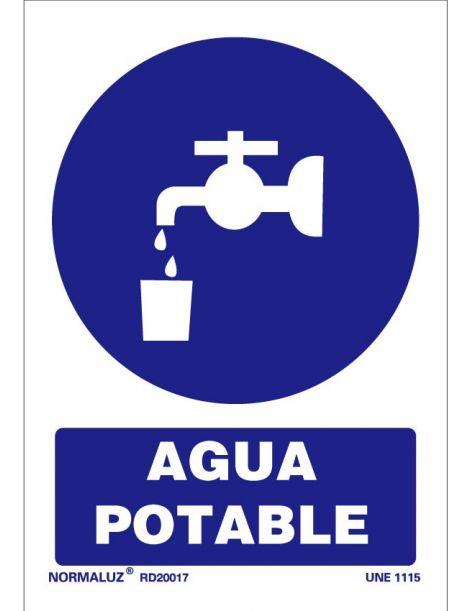 Señal Agua potable
