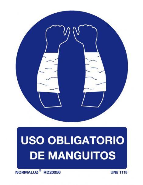 Señal Uso obligatorio de manguitos