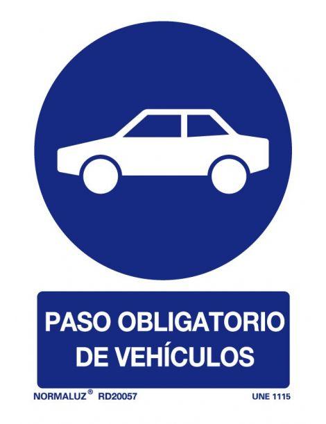 Señal Paso obligatorio de Vehículos