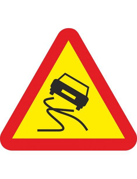 Señal Pavimento deslizante