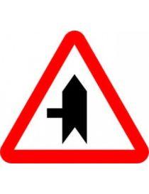 Señal Peligro Prioridad Sobre Vía a la Izquierda