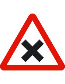 Señal Peligro Intersección con Prioridad a la Derecha