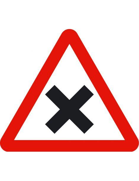 Señal Intersección con Prioridad a la Derecha