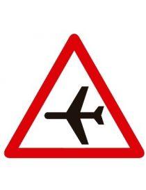 Señal Peligro Aeropuerto