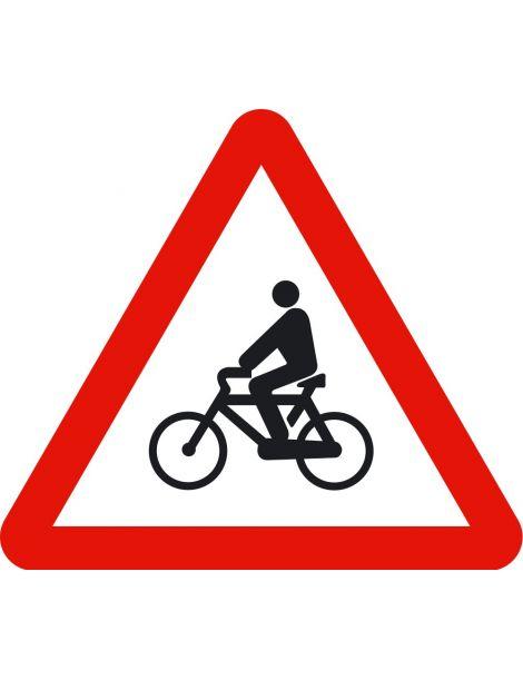 Señal Peligro Ciclistas