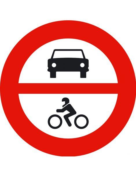 Señal Entrada Prohibida a Vehículos de Motor