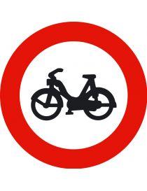 Señal Entrada Prohibida a Ciclomotores