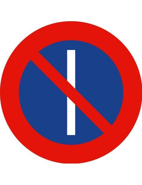 Señal Estacionamiento Prohibido Los Días Impares