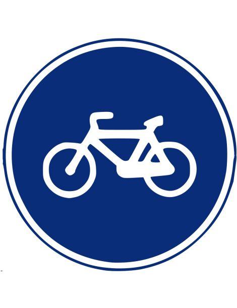Señal Camino Reservado Para Ciclos