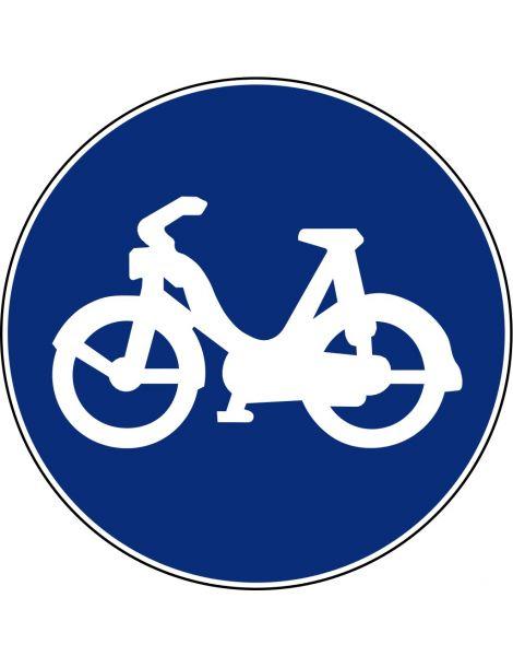 Señal Vía Para Ciclomotores